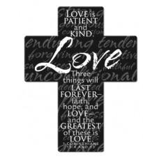 Love Cross Magnet
