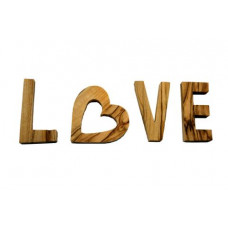 Olive Wood Love Letters