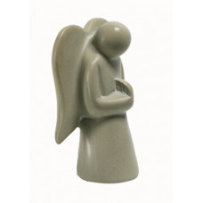 Soapstone Praying Angel Large