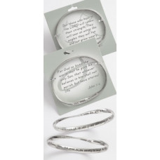 Those Who Hope Scripture Bangle