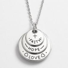 Love Faith Hope Necklace