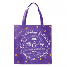 Strength and Dignity Tote Bag