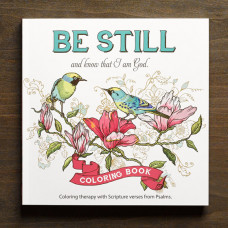 Be Still Colouring Book