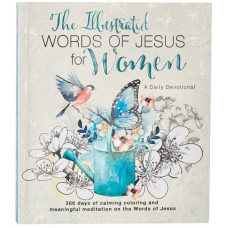 The Illustrated Words of Jesus for Women Colouring Devotional