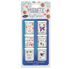Magnetic Page Markers Trust in God