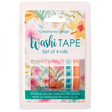 Washi Tape Bright Floral