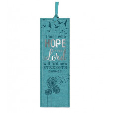 Those Who Hope Lux Leather Bookmark
