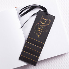 Saved By Grace Lux Leather Bookmark
