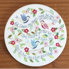 Hannah Dunnett Coaster - I Know The Plans