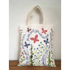 Hannah Dunnett Canvas Bag Great Delight / The Lord Is With You