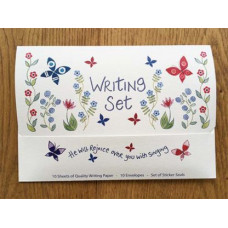 Hannah Dunnett Writing Set - He Will Rejoice Over You With Singing