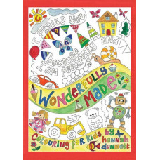 Hannah Dunnett Wonderfully Made Colouring Book For Kids