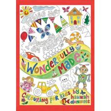 Hannah Dunnett Wonderfully Made Colouring Book For Kids