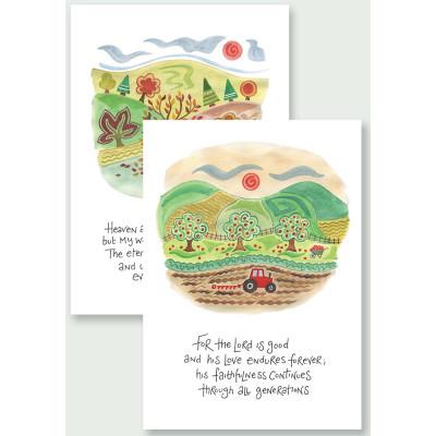 Hannah Dunnett Notecards - Eternal God/ His Faithfulness