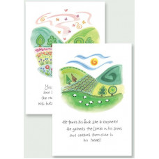Hannah Dunnett Notecards - Burst Into Song & Close To His Heart