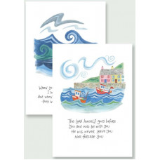 Hannah Dunnett Notecards - The Lord Goes Before You and I Will Be With You
