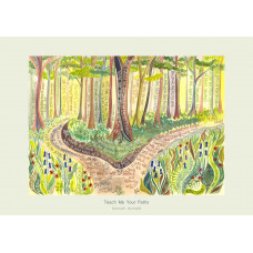Hannah Dunnett Teach Me Your Paths Card