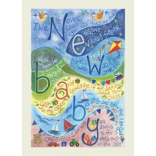 Hannah Dunnett New Baby Blue Card