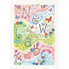 Hannah Dunnett New Baby Pink Card