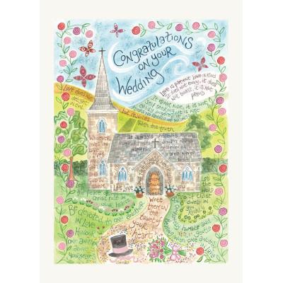 Hannah Dunnett Wedding Card