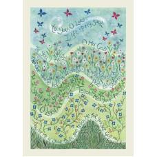 Hannah Dunnett In You I Trust Greetings Card