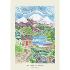 Hannah Dunnett Our Refuge And Strength Card