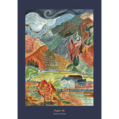 Hannah Dunnett Psalm 91 Card