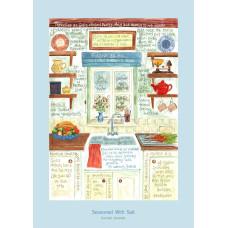 Hannah Dunnett Seasoned With Salt Greetings Card