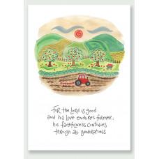 Hannah Dunnett His Faithfulness A4 Print