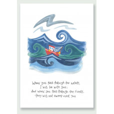 Hannah Dunnett I Will Be With You A4 Print