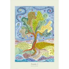Hannah Dunnett Proverbs 3 A3 Poster