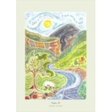 Hannah Dunnett Psalm 23 A3 Poster
