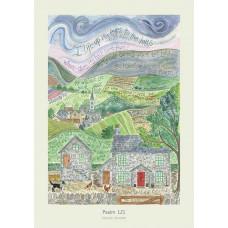Hannah Dunnett Psalm 121 A3 Poster