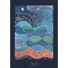 Hannah Dunnett Psalm 139 A3  Poster