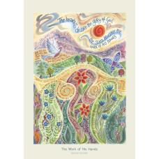 Hannah Dunnett The Work of His Hands A3 Poster