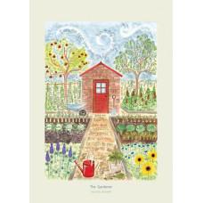 Hannah Dunnett The Gardener A3 Poster