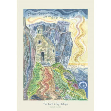 Hannah Dunnett The Lord is My Refuge A3 Poster