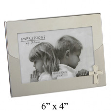Photo Frame with Cross