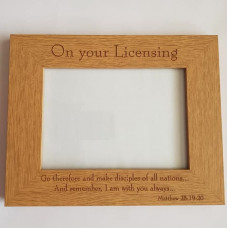 On Your Licensing Wooden Picture Frame