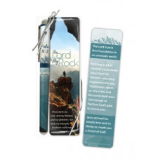 The Lord Is My Rock Pen And Bookmark Set