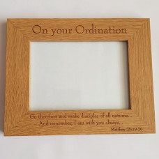 On Your Ordination Picture Frame