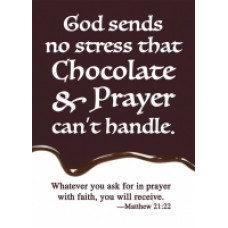 Prayer Card - Chocolate and Prayer