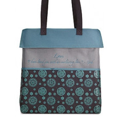 Medallion Tote Bag - Love