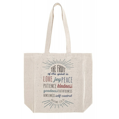 Fruit of the Spirit Canvas Tote Bag