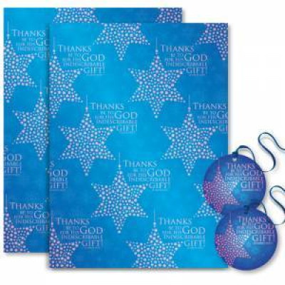 Christmas Gift Wrap - Indescribable Gift