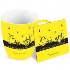 Mug And Coaster Gift Set - Bee Still