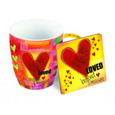 Mug And Coaster Gift Set - Loved Beyond Measure