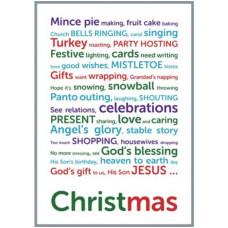 Christmas Poem Tea Towel
