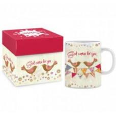 Boxed Mug - God Cares For You