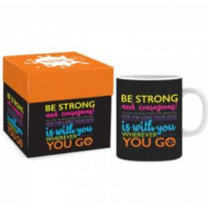Boxed Mug - Be Strong and Courageous